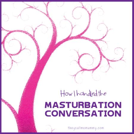 Masturbation conversation